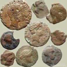 Monedas ibéricas: INTERESANTE CONJUNTO DE BRONCES IBÉRICOS, (9). 87-L. Lote 277612743