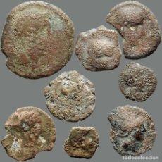 Monedas ibéricas: LOTE DE 8 MONEDAS DE ÉPOCA IBÉRICA. 203-L. Lote 277613053