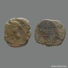 Monedas ibéricas: OBULCO (PORCUNA, JAÉN), AS. SIGLO II A.C. 217-L. Lote 277613568