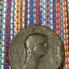 Monedas ibéricas: MUY RARO SEMIS DEL EMPERADOR CLAUDIO CECA DE EBUSUS IBIZA EX-COLECCIÓN CORES. Lote 277726598