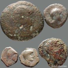 Monedas ibéricas: INTERESANTE CONJUNTO DE BRONCES IBÉRICOS, (5). 176-L. Lote 278551503