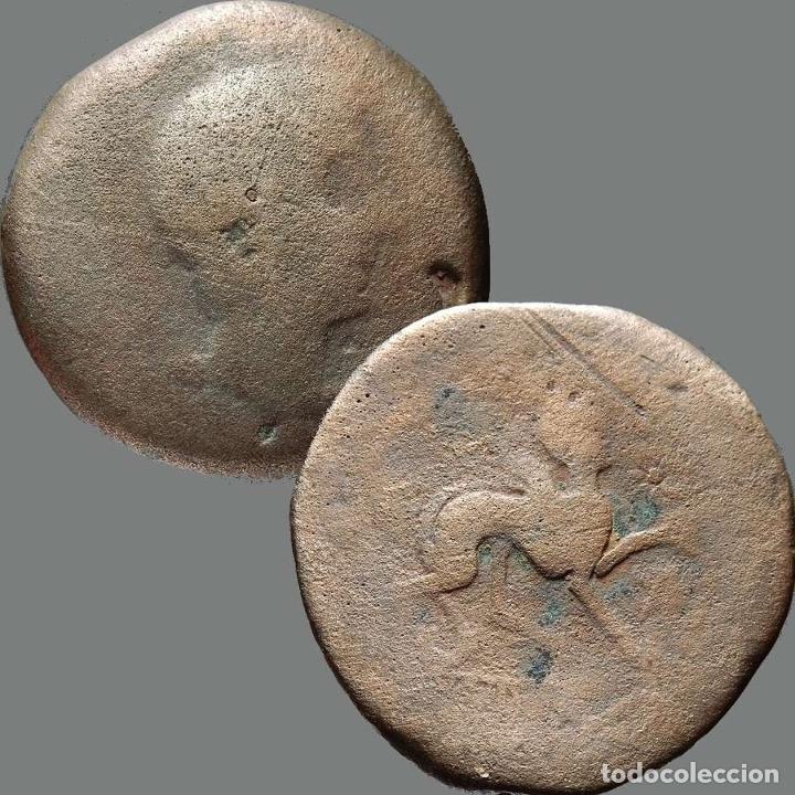 KASTILO-CASTULO. AS. 180 A.C. CAZLONA (JAÉN). 172-L (Numismática - Hispania Antigua - Moneda Ibérica no Romanas)