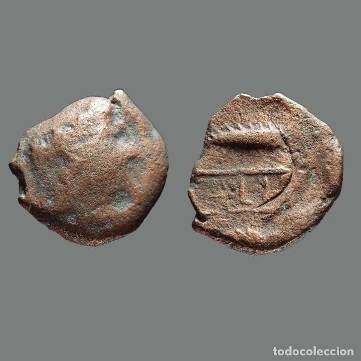 CALLET. AS. 50 A.C. EL CORONIL (SEVILLA). 168-L (Numismática - Hispania Antigua - Moneda Ibérica no Romanas)