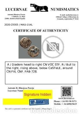Monedas ibéricas: CASTULO. Semis. 180 a.C. Cazlona (Jaén). 154-L - Foto 2 - 278551723