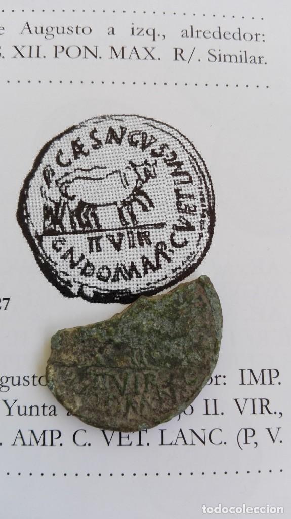 AS CAESARAUGUSTA (Numismática - Hispania Antigua - Moneda Ibérica no Romanas)