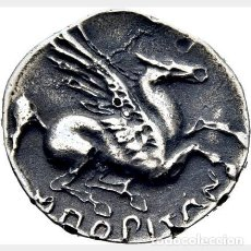 Monedas ibéricas: DRACMA DE EMPORIÓN. COPIA SIGLO XIX. EBC.. Lote 287951308