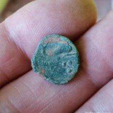 Monedas ibéricas: CUADRANTE Y SEXTANTE ARSE, SAGUNTO. Lote 289575833