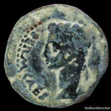 Monedas ibéricas: AS DE JULIA TRADUCTA, ALGECIRAS (CÁDIZ) - 24 MM / 7.528 GR.. Lote 289884418