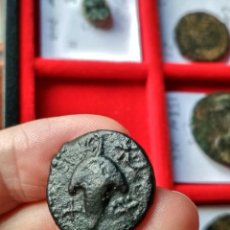 Monedas ibéricas: RARO SEMÍS O AS IBÉRICO DE ACINIPO, RONDA LA VIEJA, MÁLAGA. Lote 296873388