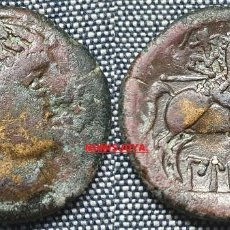 Monedas ibéricas: ESPAÑA ANTIGUA. AS DE BILBILIS CALATAYUD (ZARAGOZA) BRONCE. PESO 14,26 GR. 28 MM.. Lote 296877623