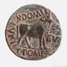 Monedas ibéricas: ESCASO AS COLONIA VICTRIX IULIA CELSA AUGUSTO 5-3 A.C.. Lote 297184143
