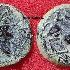 Monedas ibéricas: AÑO 50 A.C. CASTULO CAZLONA LINARES JAÉN. BONITO SEMIS DE BRONCE. PESO 4,51 GR. 19 MM.. Lote 297266753