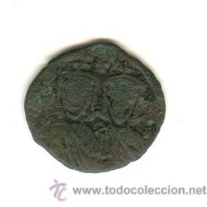 Monedas Imperio Bizantino: RARO FOLLIS DE LEO IV (775-780 D.C.) CATALOGO SEABY BIZANTINE COINS Nº1586. Lote 23197116