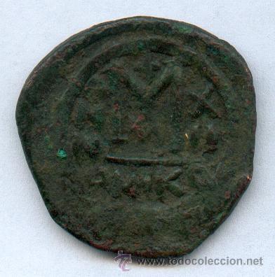 Monedas Imperio Bizantino: ENORME MONEDA BIZANTINA - Foto 2 - 26282882