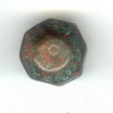 Monedas Imperio Bizantino: ANTIGUA PESA IMPERIO BIZANTINO SIGLO VI AL VIII D.C. MULTIPLES PEQUEÑAS CARAS. PESO: 29 GRAMOS. . Lote 22605655