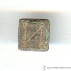 Monedas Imperio Bizantino: PESA O PONDERAL DEL IMPERIO BIZANTINO (SIGLO V AL X DESPUES DE CRISTO). VALOR UN NUMISMA. Lote 21123033