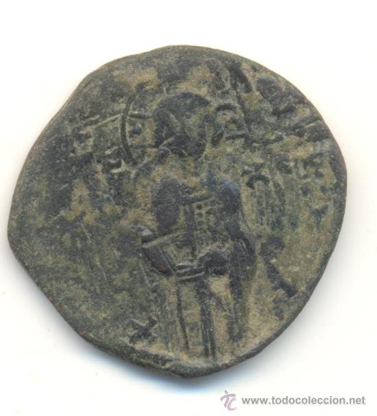 RARO FOLLIS ANONIMO DE MIGUEL IV (1034-1041) CECA DE CONSTANTINOPLA SEABY Nº1825 JESUCRISTO JESÚS (Numismática - Periodo Antiguo - Imperio Bizantino)