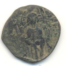 Monedas Imperio Bizantino: RARO FOLLIS ANONIMO DE MIGUEL IV (1034-1041) CECA DE CONSTANTINOPLA SEABY Nº1825 JESUCRISTO JESÚS. Lote 33275136