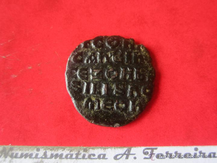Monedas Imperio Bizantino: I. Bizantino. 1/2 follis de Constantino VII y Romano I Zoes. #mn - Foto 2 - 49164113