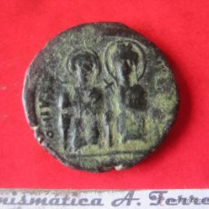 Monedas Imperio Bizantino: I. BIZANTINO. FOLLIS DE JUSTINO II Y SOFIA. #MN. Lote 49164214