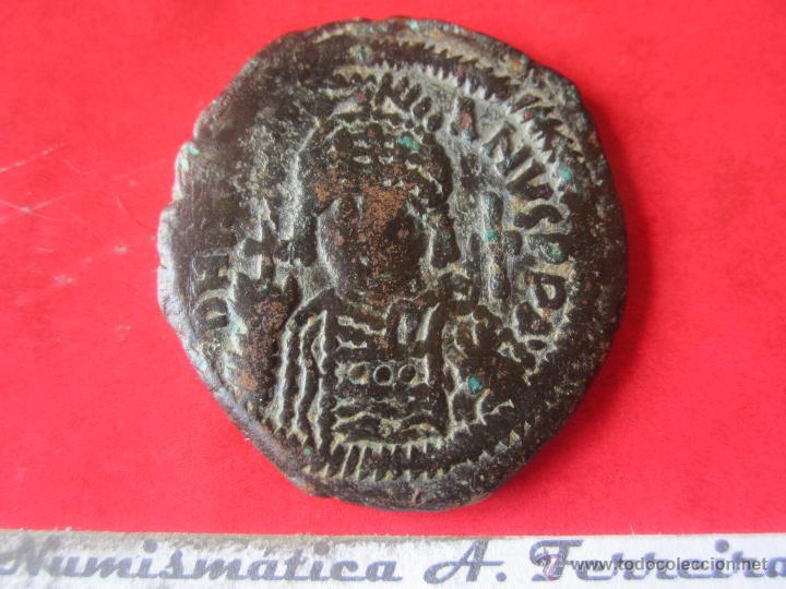 I. BIZANTINO. FOLLIS DE JUSTINIANO I. #MN (Numismática - Periodo Antiguo - Imperio Bizantino)