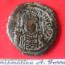 Monedas Imperio Bizantino: I. BIZANTINO. FOLLIS DE JUSTINIANO I. #MN. Lote 49164734