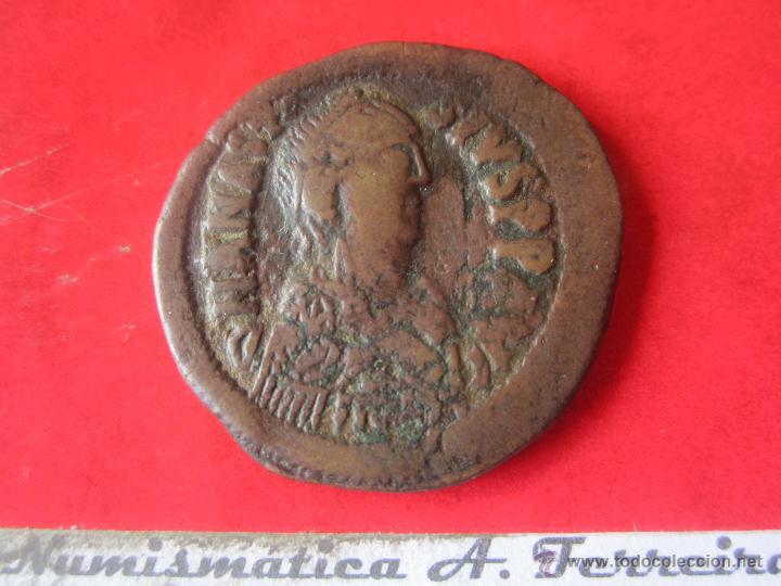 I. BIZANTINO. FOLLIS DE ANASTASIO I. 491/518. #MN (Numismática - Periodo Antiguo - Imperio Bizantino)