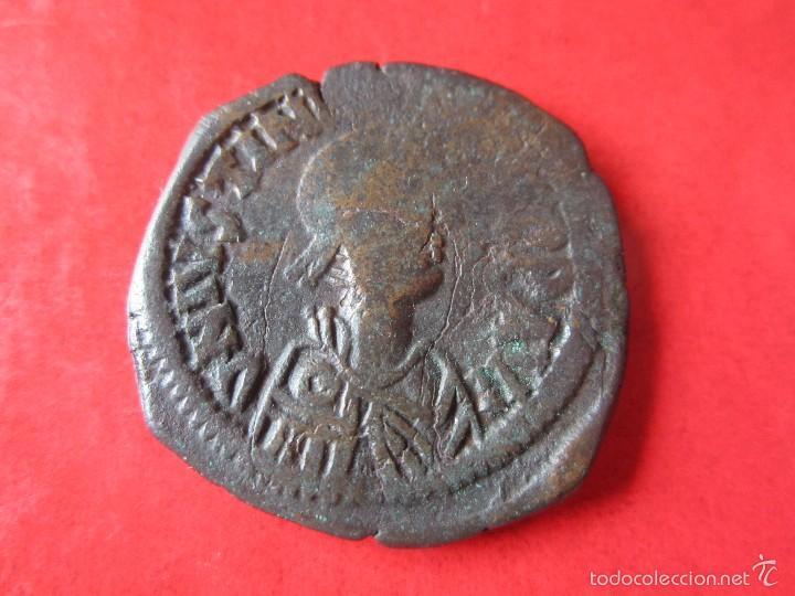 IMPERIO BIZANTINO. FOLLIS DE JUSTINIANO I 527/565. #MN (Numismática - Periodo Antiguo - Imperio Bizantino)