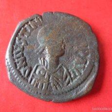 Monedas Imperio Bizantino: IMPERIO BIZANTINO. FOLLIS DE JUSTINIANO I 527/565. #MN. Lote 57851380