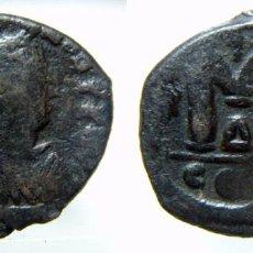 Monedas Imperio Bizantino: FOLLIS DE JUSTINO I 518-522 D.C. CECA DE CONSTANTINOPLA. Lote 72884827