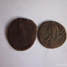 Monedas Imperio Bizantino: 2 FOLLIS BIZANTINOS: ROMANO IV Y MIGUEL IV.. Lote 77037997