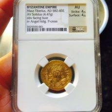 Monedas Imperio Bizantino: SOLIDO DEL IMPERIO BIZANTINO CERTIFICADO. Lote 83009208