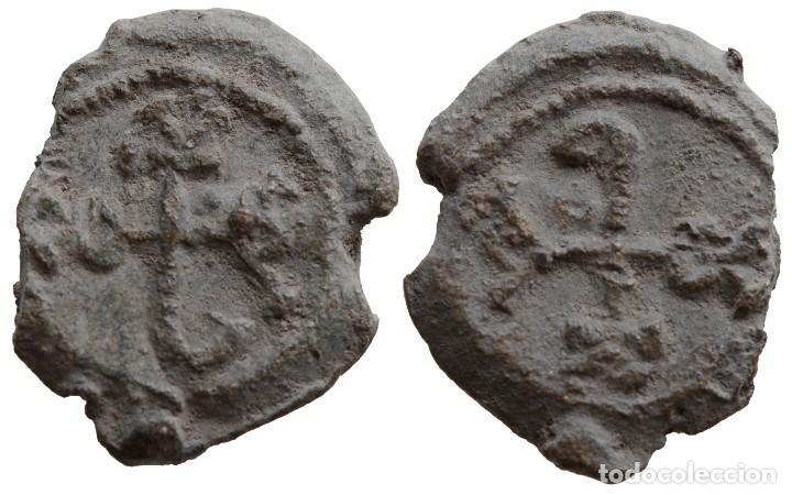PLOMO BIZANTINO (Numismática - Periodo Antiguo - Imperio Bizantino)