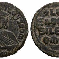 Monedas Imperio Bizantino: IMPERIO BIZANTINO- FOLLIS EN BRONCE DE LEO VI (EL SABIO) 886-912 DC-CONSTANTINOPLA. Lote 88355516