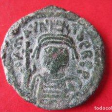 Monedas Imperio Bizantino: IMPERIO BYZANTINO. FOLLIS DE MAURICIO TIBERIO. 582/602. Lote 96772511
