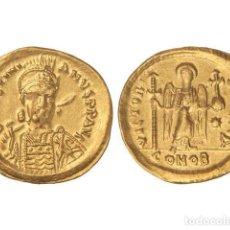 Monedas Imperio Bizantino: MONEDAS BIZANTINAS, SÓLIDO., CONSTANTINOPLA.. Lote 102911187