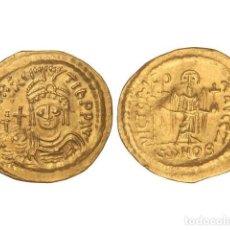Monedas Imperio Bizantino: MONEDAS BIZANTINAS, SÓLIDO., CONSTANTINOPLA.. Lote 102911199