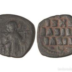 Monedas Imperio Bizantino: MONEDAS BIZANTINAS, FOLLIS.. Lote 102914898