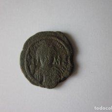 Monedas Imperio Bizantino: MEDIO FOLLIS DE JUSTINIANO.. Lote 107429047