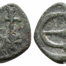 Monedas Imperio Bizantino: IMPERIO BIZANTINO! BRONCE! PENTANUMMIUM 1,68 G / 12 MM MBC RARO. Lote 107819975