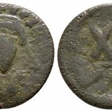 Monedas Imperio Bizantino: IMPERIO BIZANTINO! MEDIO FOLLIS! FOCAS 602 - 610! MBC- MAPPA 4,06 G / 19 MM. Lote 107821579