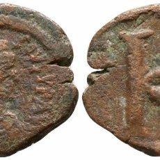 Monedas Imperio Bizantino: IMPERIO BIZANTINO! MEDIO FOLLIS! BRONCE! ANASTASIO I (491-518). BRONCE! 7,70 G / 25 MM MBC-. Lote 107858811