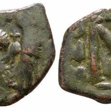 Monedas Imperio Bizantino: IMPERIO BIZANTINO! BRONCE! HERACLIO! FOLLIS 4,89 G / 25 MM MBC+. Lote 107861063
