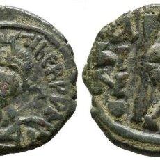 Monedas Imperio Bizantino: IMPERIO BIZANTINO! MAURICIO TIBERIO! 582-602! MEDIO FOLLIS! MBC (MAURICE TIBERIUS) 4,49 G / 20 MM. Lote 110259031