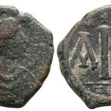 Monedas Imperio Bizantino: IMPERIO BIZANTINO! BRONCE 16 NUMMI 7,26 G / 21 MM MBC/EBC-. Lote 110402191
