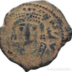 Monedas Imperio Bizantino: IMPERIO BIZANTINO! MAURICIO TIBERIO 582- 602! 10 NUMMI (DECANUMMI)! ANTIOQUIA!! EBC-! ESCASO 2,7G. Lote 111530755