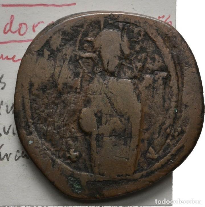 Monedas Imperio Bizantino: IMPERIO BIZANTINO! ATRIBUIDO MIGUEL IV! 1034-1041! ANONIMO! AE FOLLIS! CONSTANTINOPLA MBC+/EBC-? - Foto 2 - 111543851