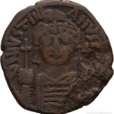 Monedas Imperio Bizantino: BIZANCIO! JUSTINIANO I, 527-565! 40 NUMMI. AÑO: 540/1 NICOMEDIA! AES 31 MM, 14.69 G! MBC+. Lote 116955827