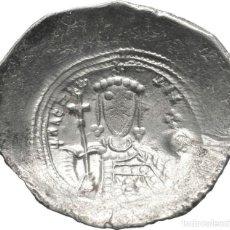 Monedas Imperio Bizantino: IMPERIO BIZANTINO! ALEJO I COMNENO (1081 - 1118)! CONSTANTINOPLA BILLON ASPRON TRACHY EBC PLATA. Lote 116972183