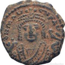Monedas Imperio Bizantino: IMPERIO BIZANTINO! MAURICIO TIBERIO, 582-602! DEKANUMMI ANTIOQUIA EBC- ESCASO. Lote 117029423